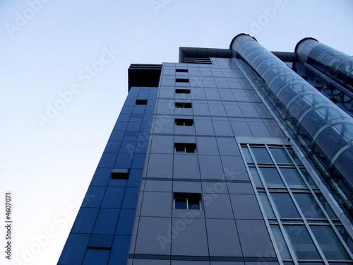 immeuble moderne en verre avec ascenseur externe chine. Black Bedroom Furniture Sets. Home Design Ideas