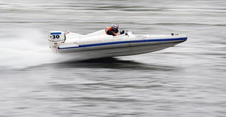 Printed roller blinds Water Motor sports Motorboat