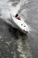 Recess Fitting Water Motor sports Motorboat