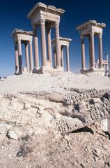 Tetrapylon at Palmyra Syria