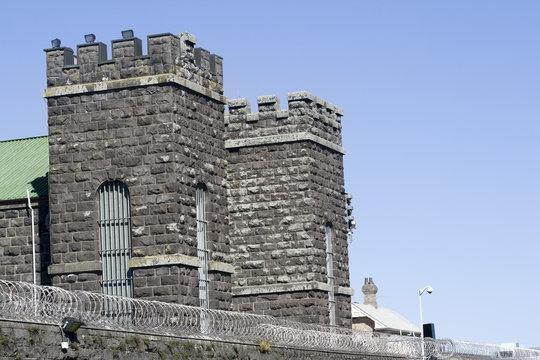 Prison Block House Towers - Mt Eden Prison Auckland New Zealand