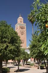 Koutoubia minaret in Marrakesh