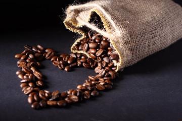 kaffee, bohnen