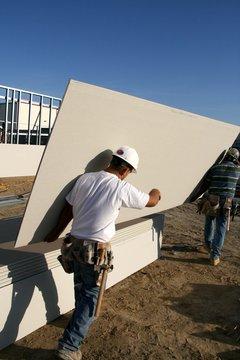 construction,worker,sheetrock