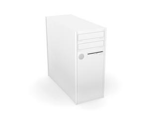 Freigestellter PC
