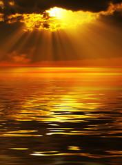 Fototapeta Solar beams obraz