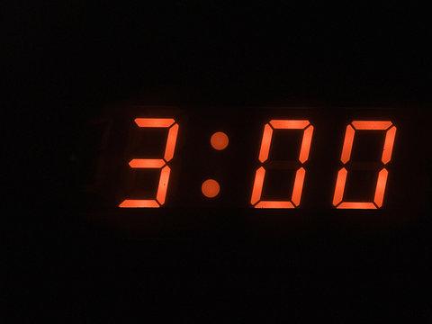 three o clock