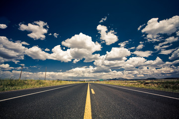 Fototapeten Route 66 Highway 2
