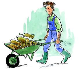 Aide à domicile : jardinage