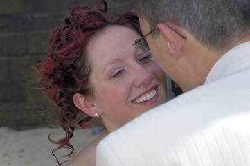 regard de la mariée