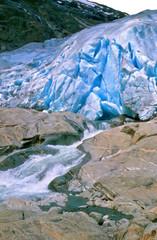 Poster Glaciers Gletschereis