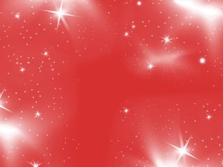 abstract winter  red background