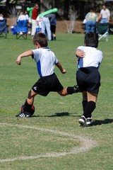 Young Boys Soccer Game