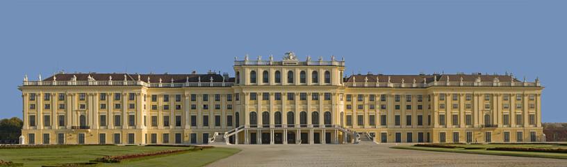 Panoramabild Schloss Schönbrunn