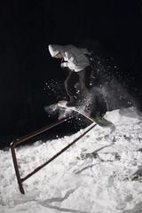 Night snowboarding 04