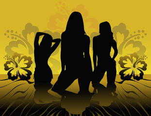 girls siluetas2