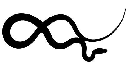 serpent noir