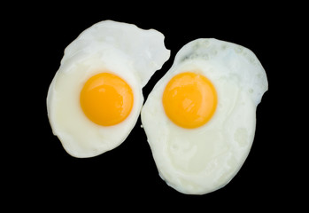 Foto auf Acrylglas Eier Two Fried Eggs