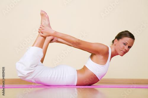 Йога хатха для похудения в картинках