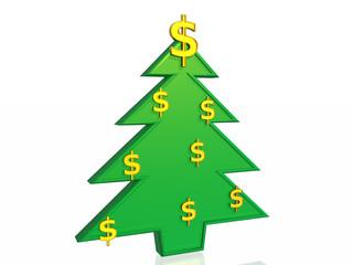 Business christmas tree