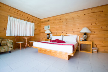 Five star hotel room