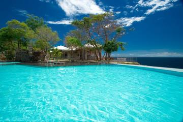 Private resort pool
