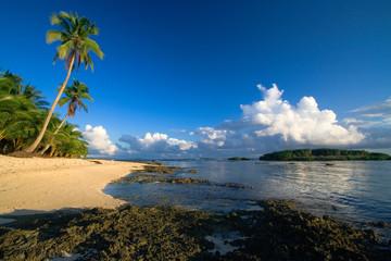 Beautiful tropical beach paradise