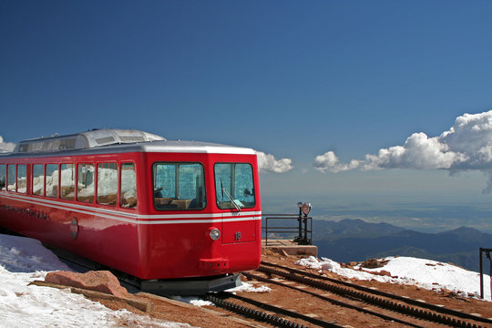 Pikes Peak Rail Car