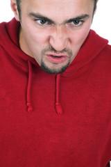 a quarreling man