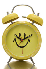 Happy Face Clock