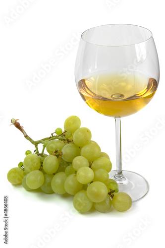 Racimo de uvas moscatel y copa de vino blanco 2 fotos for Copa vino blanco