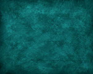 Teal Grunge Background