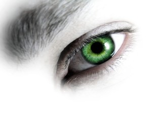 eye mazing green