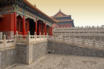 Fotobehang Beijing Forbidden City, Beijing, China