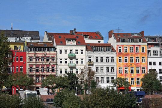 Hamburg Hafenstraße - Kunterbunt