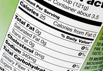 Zero fat