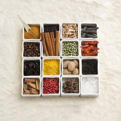Foto auf Acrylglas Gewürze Spices