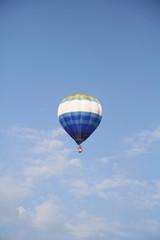 In blue sky