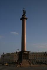 Alexandersäule Schlossplatz St. Petersburg Russland