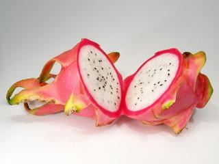 halbierte Drachenfrucht