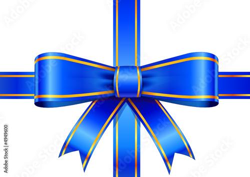 ruban bleu paquet cadeau fichier vectoriel libre de droits sur la banque d 39 images. Black Bedroom Furniture Sets. Home Design Ideas