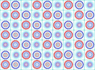 geometric tile pattern