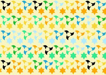 Islamic geometric tile pattern