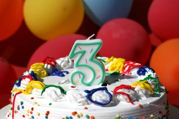 Birthday Cake - Three