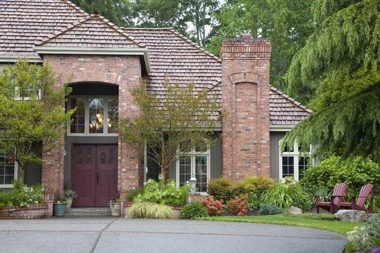 Northwest style luxury house