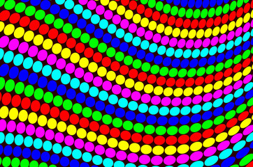 Colorful dots pattern abstract background.