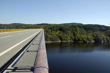 Bridge across Moldau