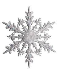 white snow flake