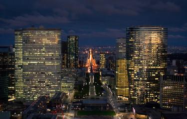 Cityscape of Paris at Night