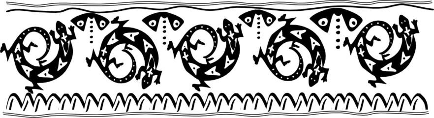 Lizard Pattern